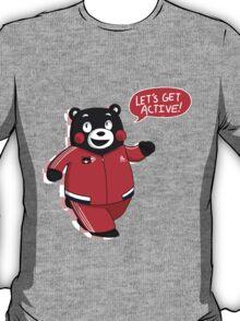 kumamon - let's get active! T-Shirt