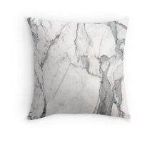 Marble Look #2 Throw Pillow