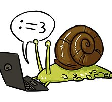 Snail Blogger by RaideoDesigns