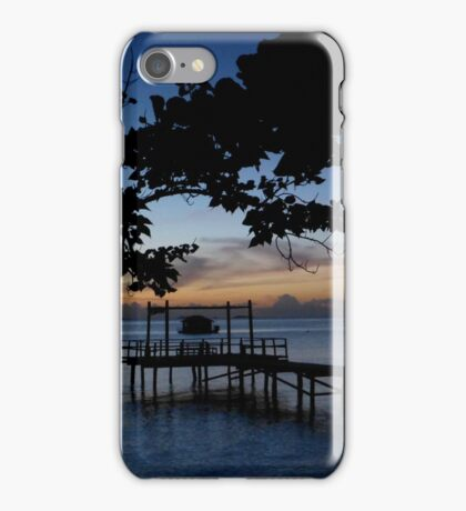 Tropical Dusk iPhone Case/Skin