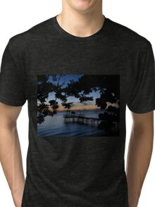 Tropical Dusk Tri-blend T-Shirt