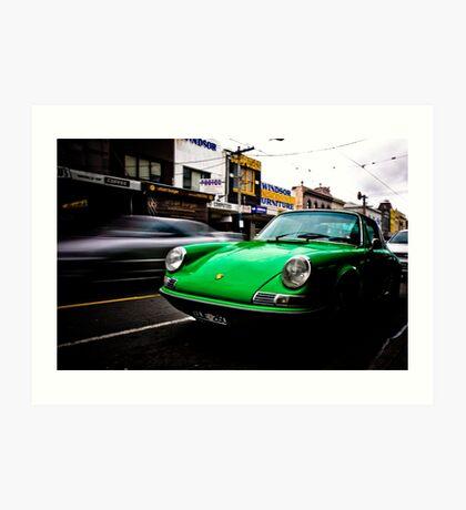 Chapel Street Porsche Art Print