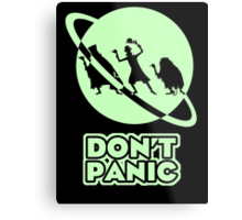 Hitchhiker's Guide to the Haunted Mansion Metal Print