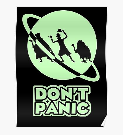 Hitchhiker's Guide to the Haunted Mansion Poster