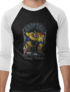 Game of Stones Men's Baseball ¾ T-Shirt