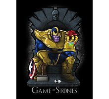 Game of Stones Photographic Print