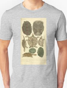 The Animal Kingdom by Georges Cuvier, PA Latreille, and Henry McMurtrie 1834  005 - Reptilia Reptiles Unisex T-Shirt