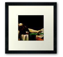 Deathconsciousness - The Death of Marat Framed Print