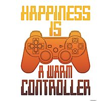 Happiness Is A warm Controller Photographic Print