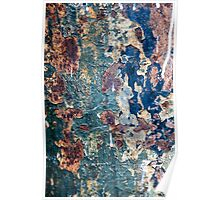 Rust closeup  Poster