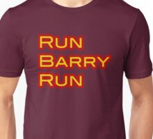 The Flash - Run Barry Run Unisex T-Shirt