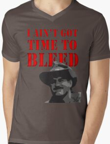 I Ain't Got Time to Bleed Mens V-Neck T-Shirt