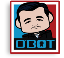 Ted Cruz Politico'bot 3.0 Canvas Print