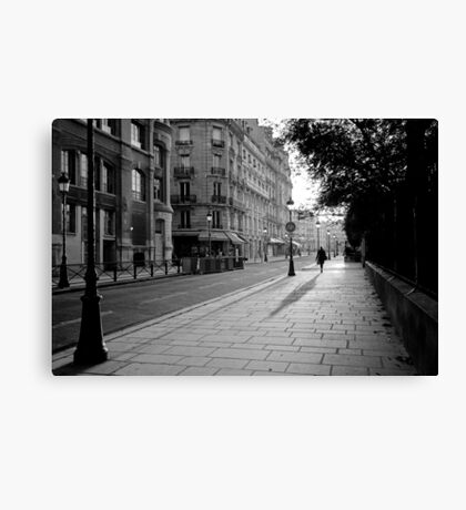Early Morning in Paris II Canvas Print