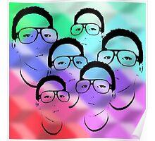 Selfie Portrait Poster