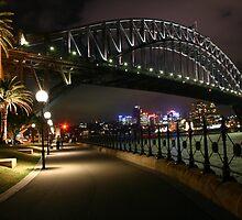 Sydney Australia: Sydney Harbour Bridge by Claude Raiola