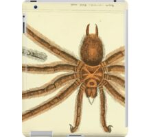 The Animal Kingdom by Georges Cuvier, PA Latreille, and Henry McMurtrie 1834  360 - Arachnides Arachnids iPad Case/Skin
