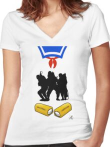 that's a big twinkie Women's Fitted V-Neck T-Shirt