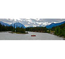 Rafting at Jasper.. Photographic Print
