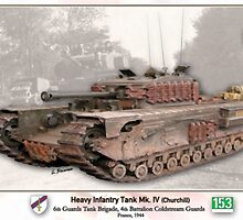 Heavy Infantry Tank Mk. IV by A. Hermann