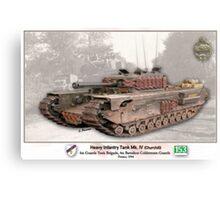 Heavy Infantry Tank Mk. IV Canvas Print