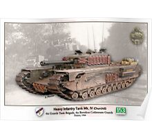 Heavy Infantry Tank Mk. IV Poster