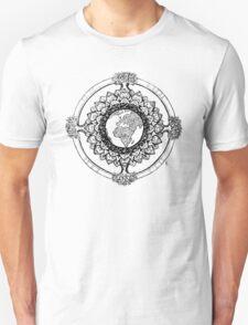 Earth Mandala (black) T-Shirt