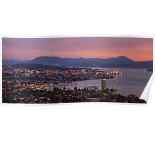 Hobart sunrise Poster