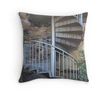 Rusted Spiral Throw Pillow