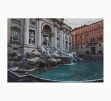 Rome's Fabulous Fountains - Trevi Fountain, No Tourists Kids Clothes