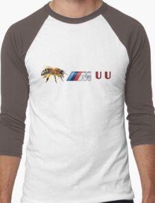 Bee M UU Men's Baseball ¾ T-Shirt