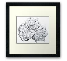 Paper and Plastic Framed Print