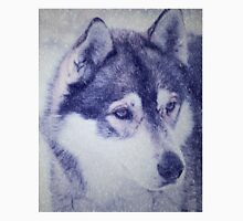 Beautiful husky dog portrait Unisex T-Shirt