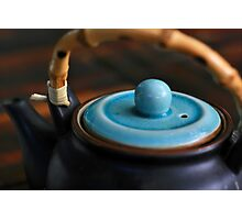 gentle afternoon pu-erh tea and japanese teapot Photographic Print