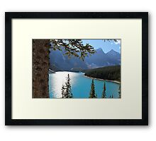 Lake Moraine Framed Print