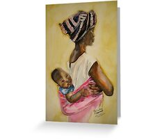 Malawian Mother Greeting Card