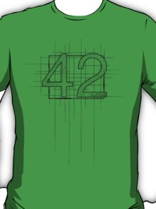 Hitchhiker's Guide to the Galaxy - 42 T-Shirt