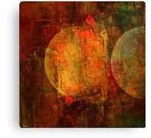Abstract moons Canvas Print