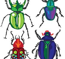 Beetles by Cori Redford
