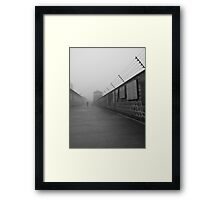 A Walk to Rememberance Framed Print