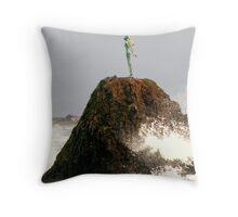 Maori Princess Throw Pillow