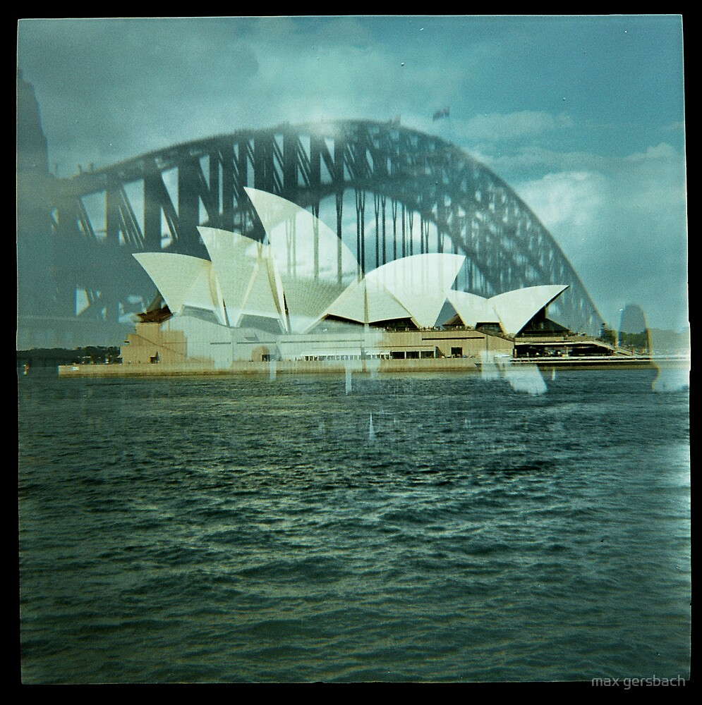 Sydney through a plastic lens by max gersbach