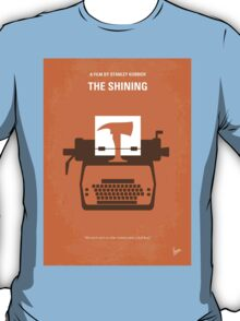 No094 My The Shining minimal movie poster T-Shirt