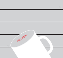 No095 My The usual suspects minimal movie poster Sticker