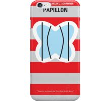 No098 My Papillon minimal movie poster iPhone Case/Skin