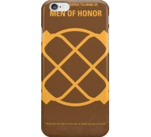 No099 My Men of Honor minimal movie poster iPhone Case/Skin