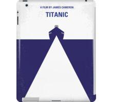 No100 My Titanic minimal movie poster iPad Case/Skin