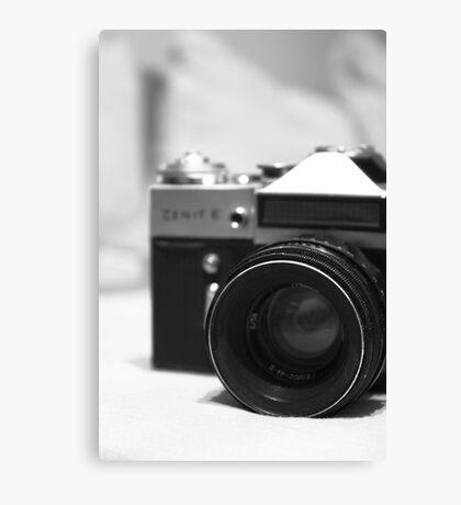 Old camera 2 Canvas Print