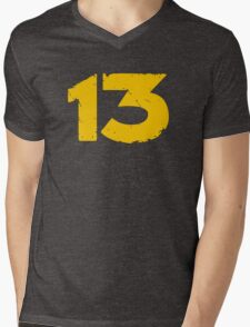 Vault 13 Mens V-Neck T-Shirt
