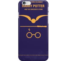 No101 My Harry Potter minimal movie poster iPhone Case/Skin